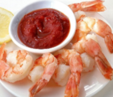 Shrimp - Cooked, Peeled and Deveined - Tail On