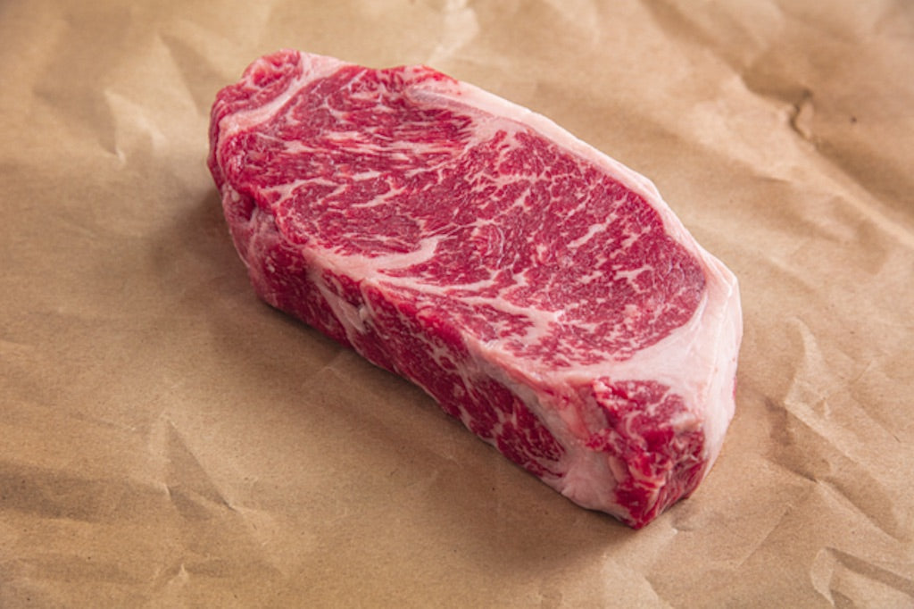 ** Featured 4 Pack ** New York Strip Steak Certified Angus Beef® USDA Prime 4-12oz