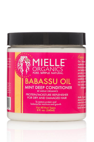 Babassu & Mint Deep Conditioner