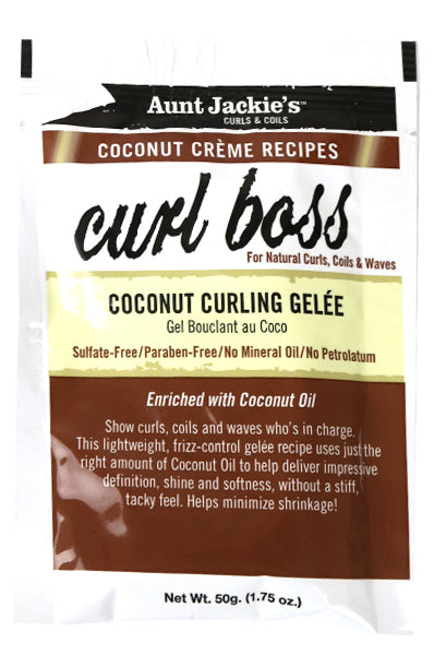 Curl Boss Coconut Curling Gelee (Sample Size)