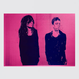 ROBERT KNOKE, ON PINK (THE KILLS), 2007 / 2018