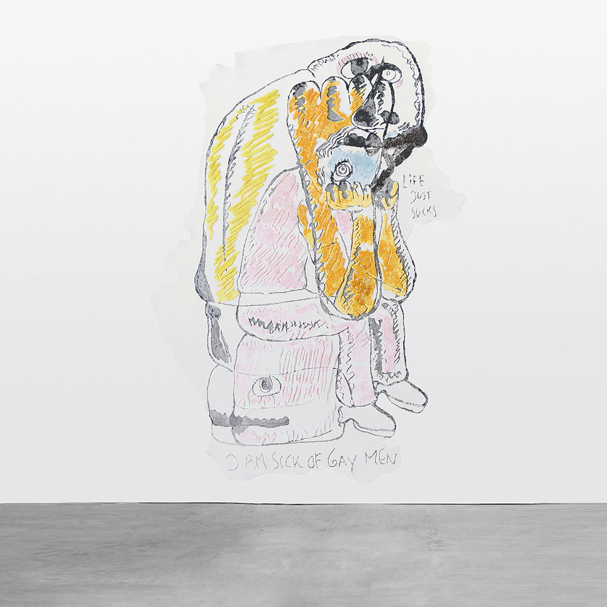BJARNE MELGAARD, UNTITLED (02), 2017
