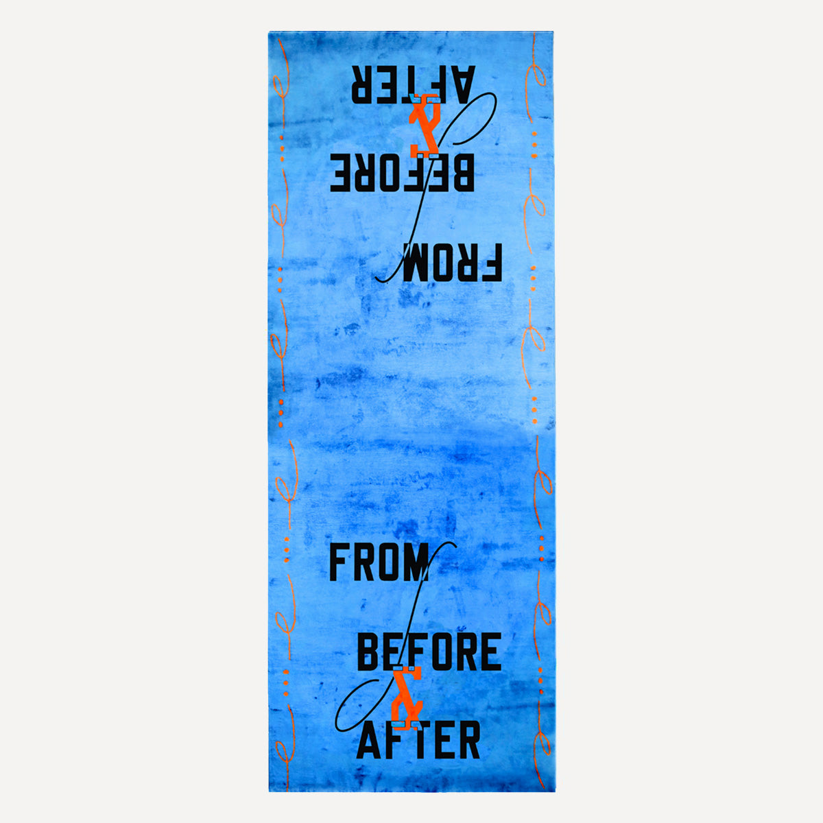 LAWRENCE WEINER, FROM BEFORE AND AFTER, 2018