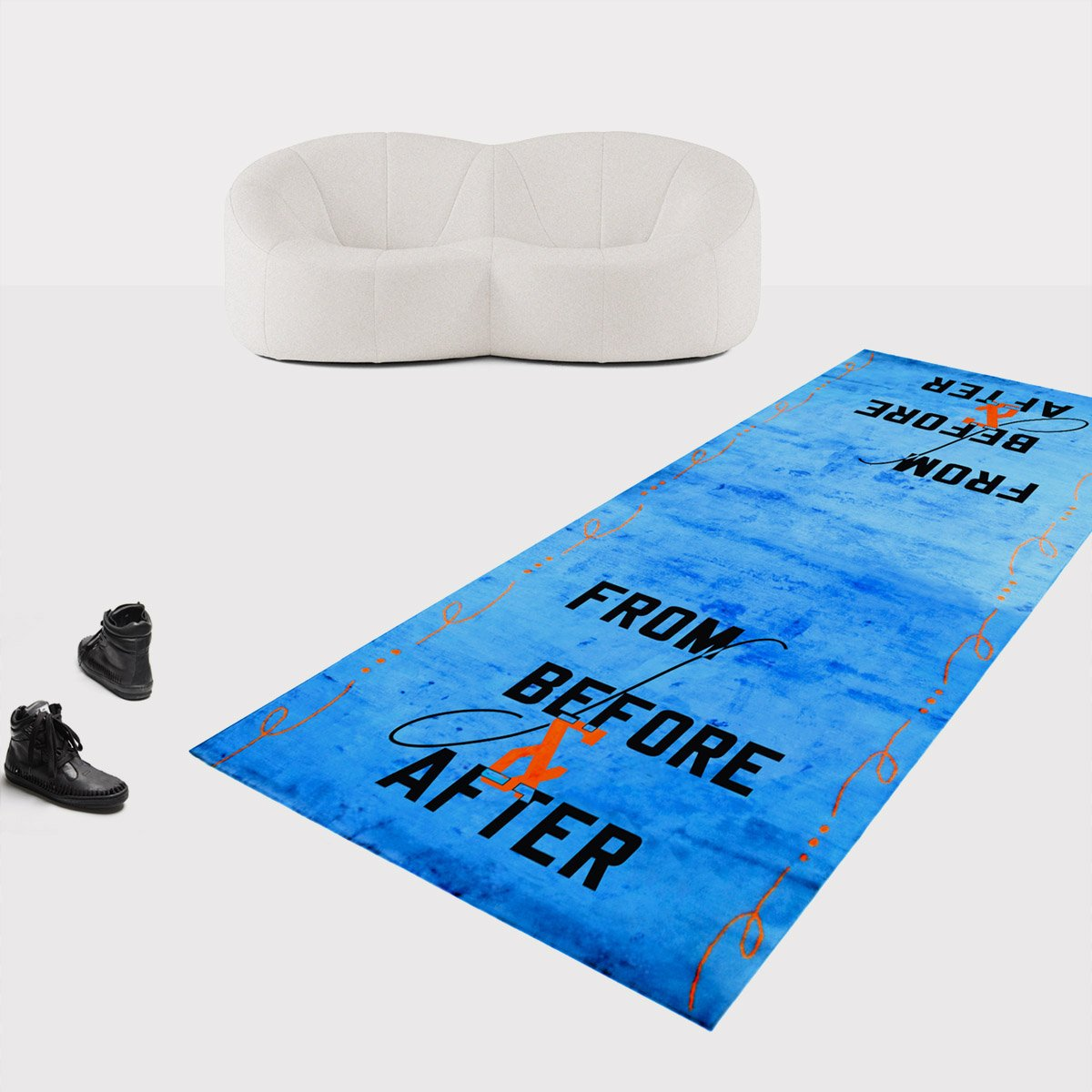 LAWRENCE WEINER, FROM BEFORE AND AFTER, 2018 (QS)