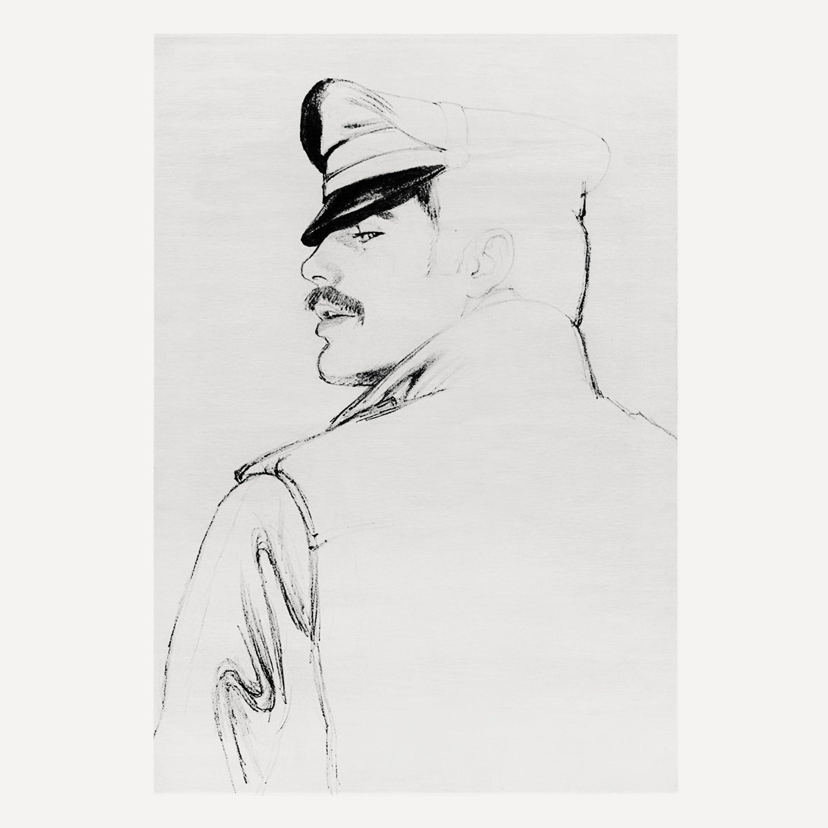 TOM OF FINLAND, UNTITLED, 1977 (1045)