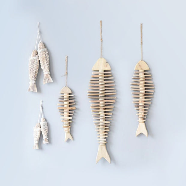 Hanging Fish Skeletone
