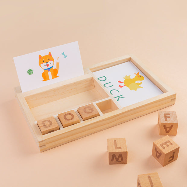 Cards & Blocks - Letters
