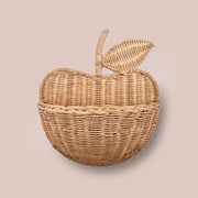 Rattan Apple Basket