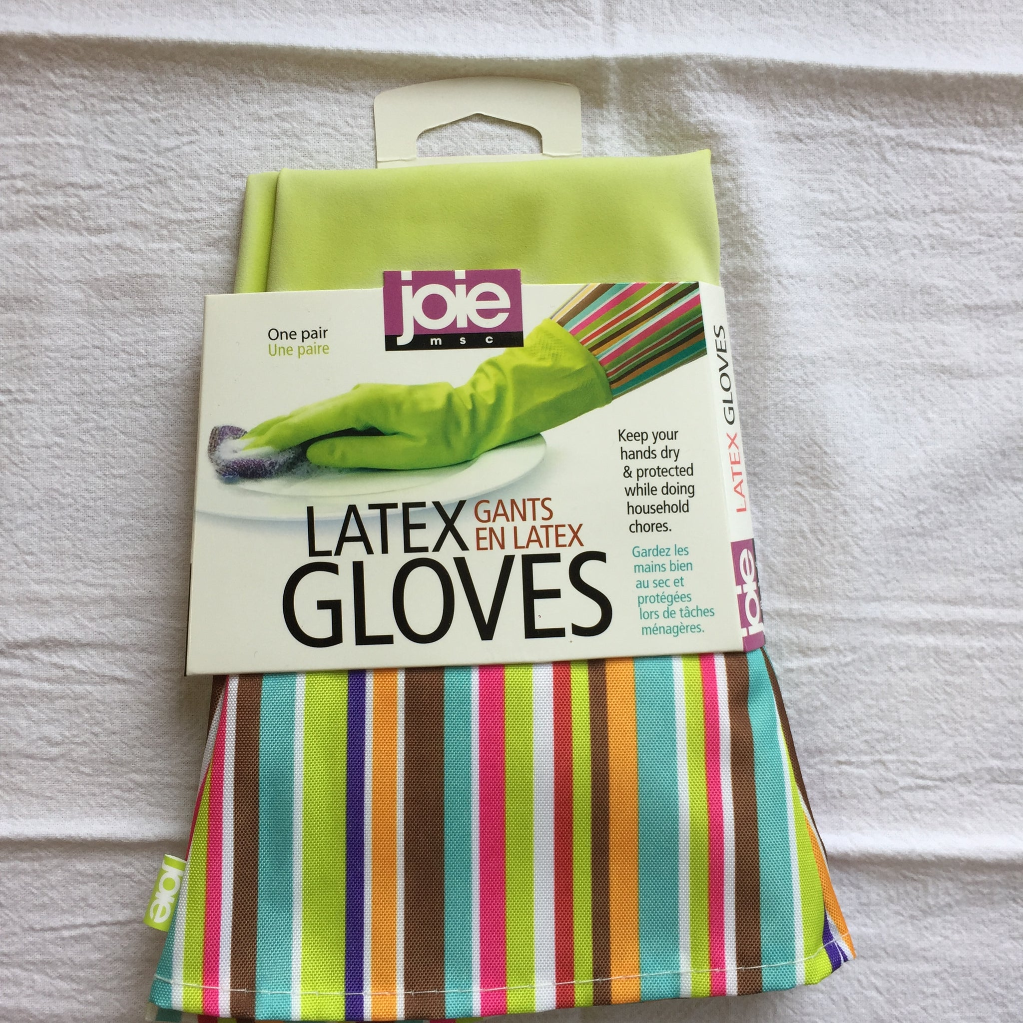 Latex Dishwashing Gloves
