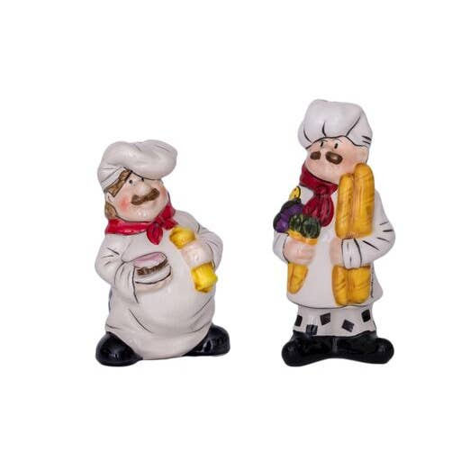 Chef Salt and Pepper Shaker Set