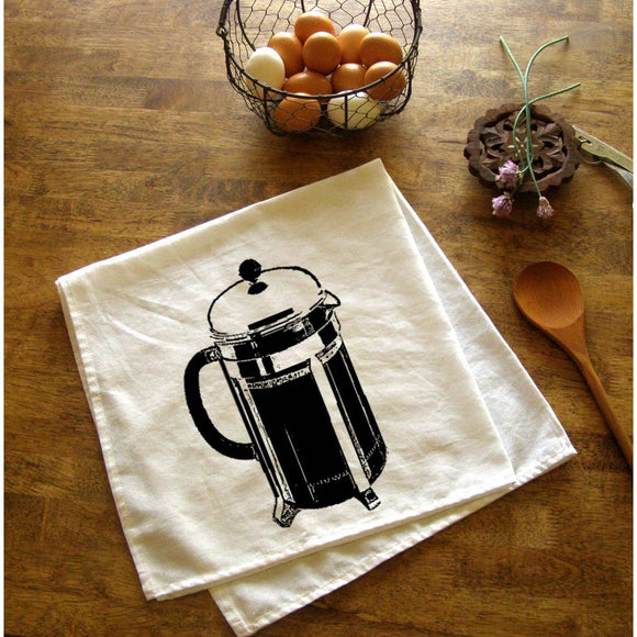 French Press Tea Towel