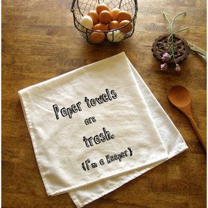 "Tea Towel ""I'm a Keeper"""