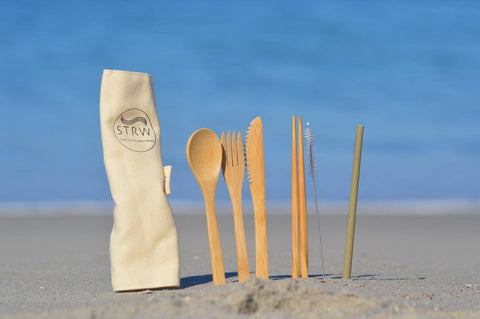 Portable Reusable Bamboo Cutlery