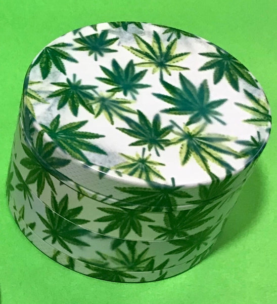 Leaf Design Stone Age 4-Piece 60mm Grinder