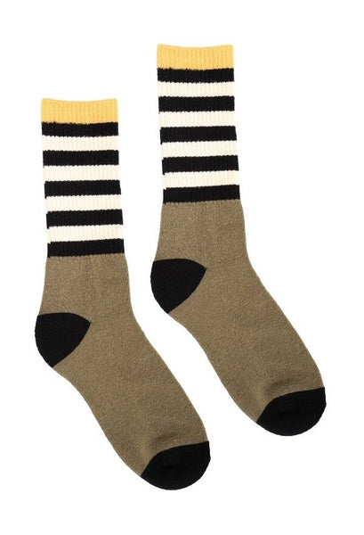 Hemp Socks | Hemp Crew Socks / Stripes