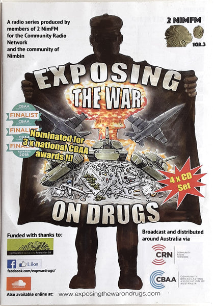 Exposing the War on Drugs by NIM-FM / 4 x CD Set