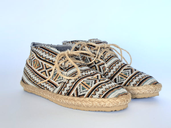 Hemp Handmade Shoes / Aztec