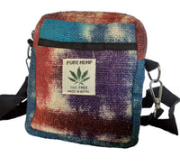 Tie-Dyed Hemp Passport Bag | Made in Nepal