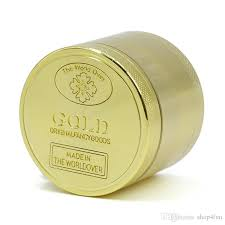 Gold 3-Piece 50mm Grinder