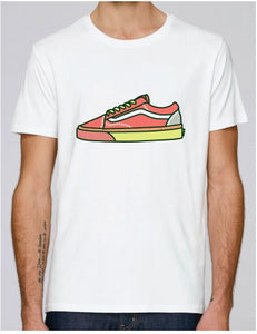SOLERESPONSIBILITY ILLUSTRATED SINGLE TRAINER TEE WHITE