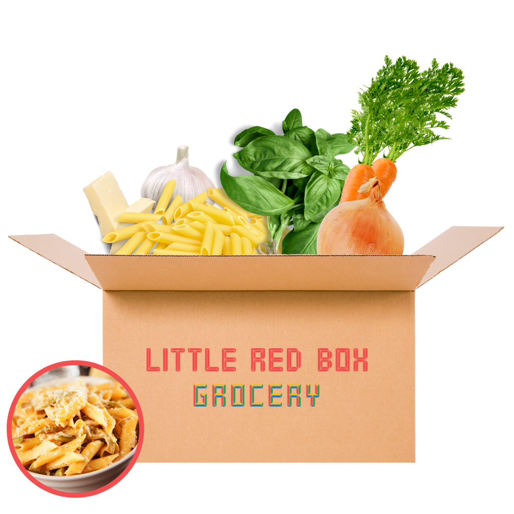 Little Red (Chef) Box - Herbed Chicken w/ Creamy Penne Pasta