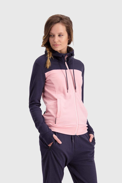 Covert Mid-Hit Hoody - Rosewater / 9 Iron