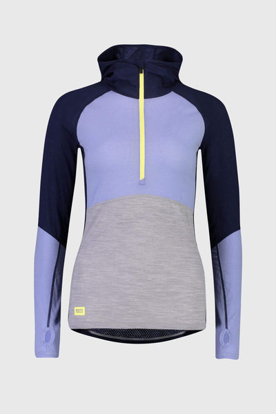 Bella Tech Hood - Navy / Blue Fog / Grey Marl