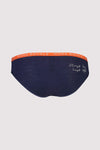 FOLO Brief - Navy / Orange Smash