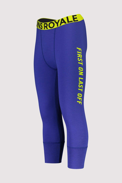 Shaun-off 3/4 Legging - Ultra Blue
