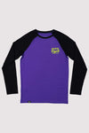 Groms Boys LS - Purple / Black