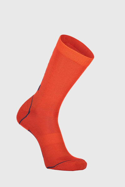 Tech Bike Sock 2.0 Mens - Orange Smash
