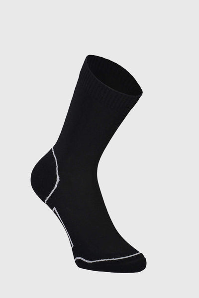 Tech Bike Sock 2.0 - Black / Grey