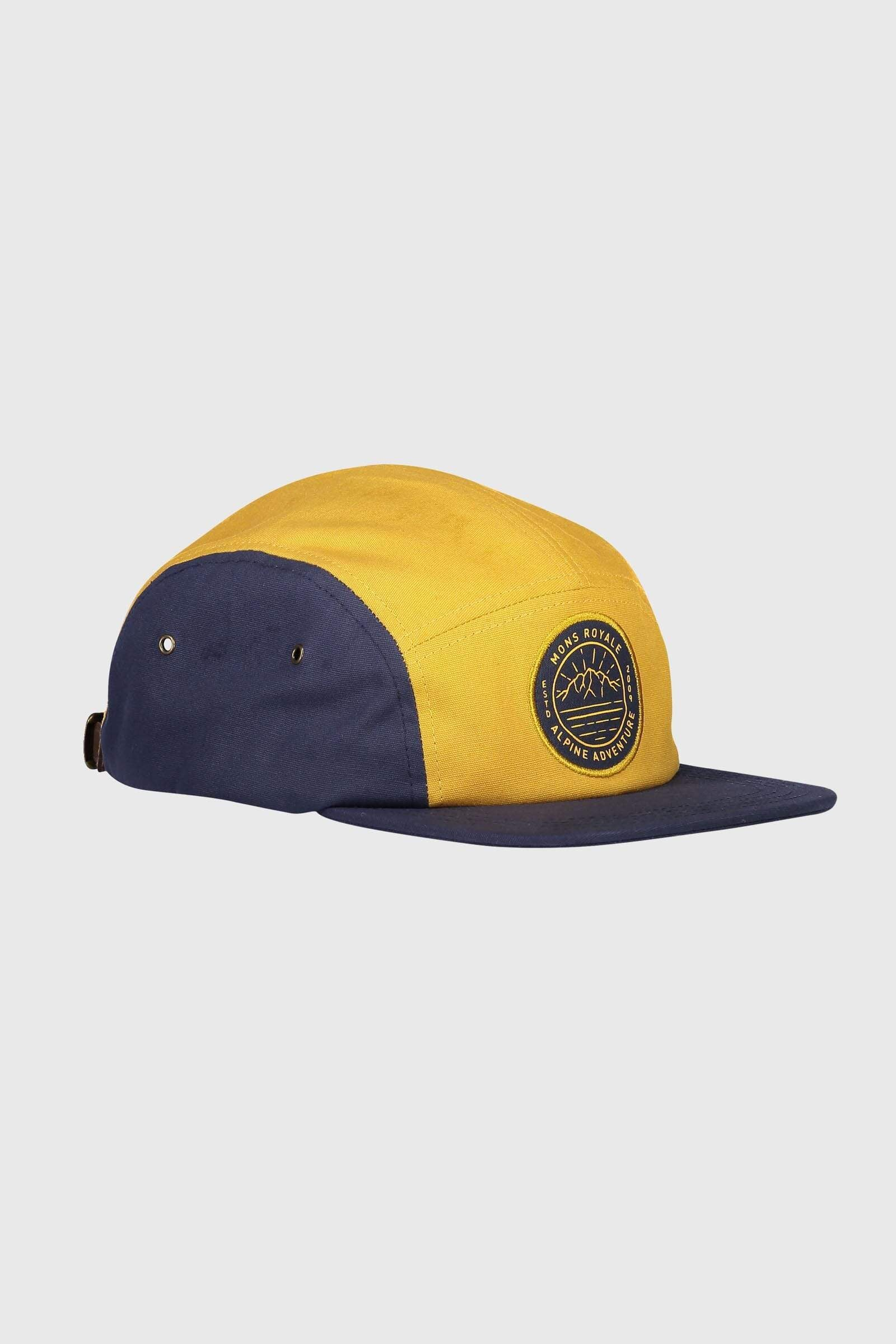Beattie 5 Panel Cap - 9 Iron / Gold
