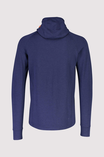 Traverse Midi Full Zip Hood - Navy