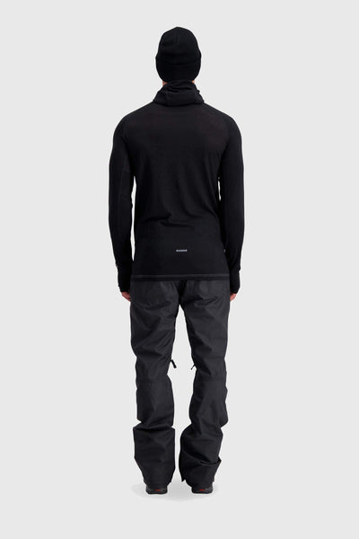 Temple Tech Flex Hood - Black / Grey Marl