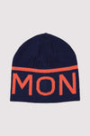 Yin Yang Beanie - Navy / Orange Smash