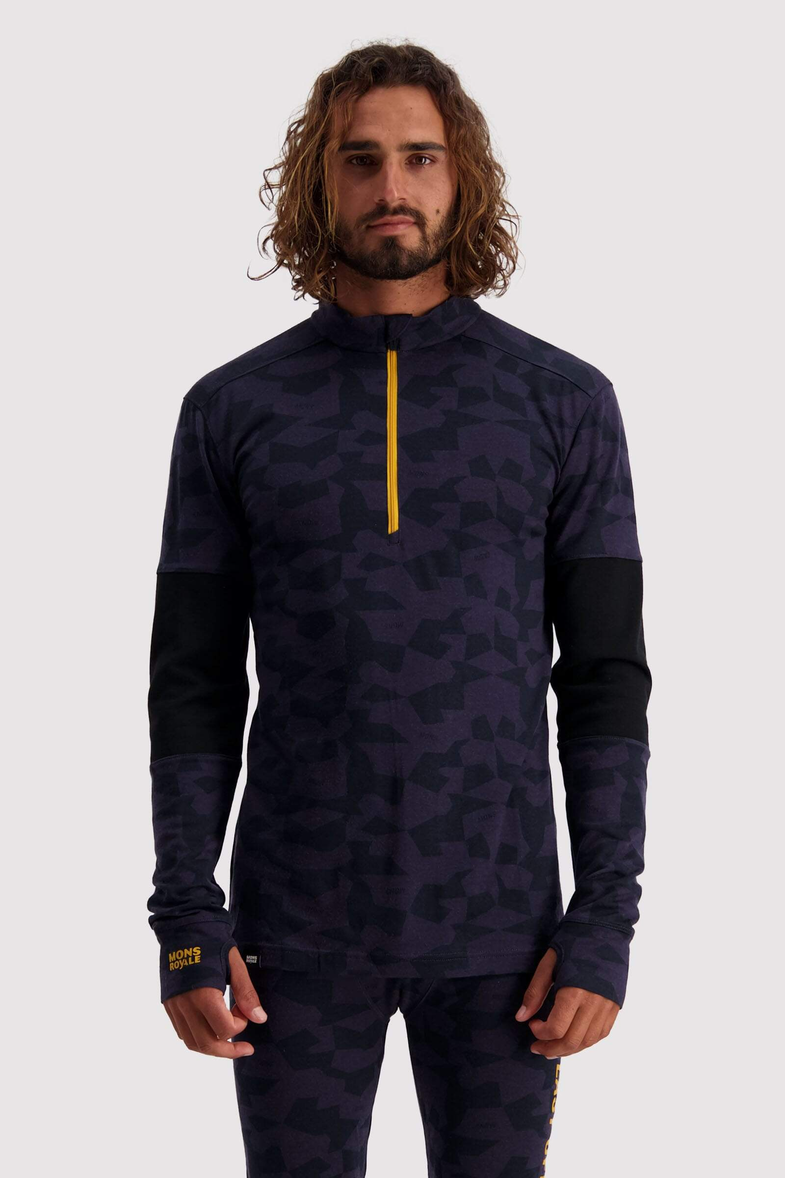 Alta Tech Half Zip - 9 Iron Camo