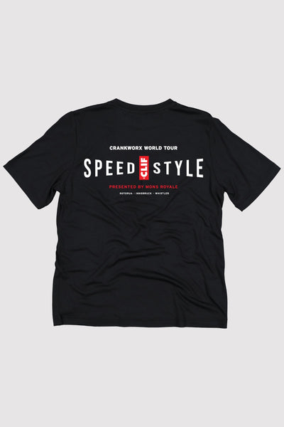 Icon Tee Crankworx 20 - Black