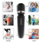Load image into Gallery viewer, Magic Wand Massager | Dual Electric Massager