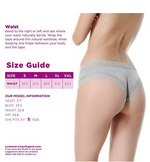Load image into Gallery viewer, Lyps Women's Lace Underwear Cheeky Hipster Panty, 3 pack(s)