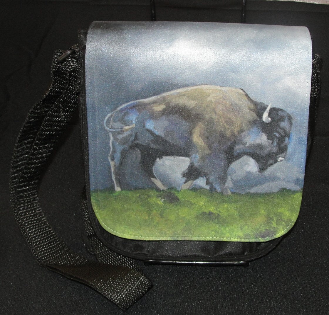 Purse, cross body, Spring Bison