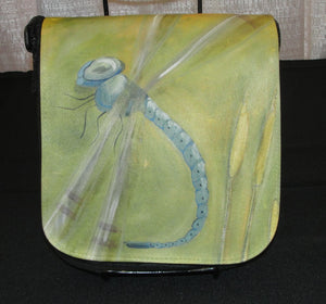 Purse, cross body, The Dragonfly