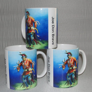 Mug, Coffee; Osage Straight Dancer