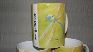 Mug, Coffee; The Dragonfly