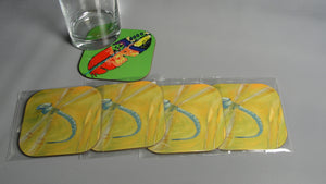 Coasters, The Dragonfly, Native Art