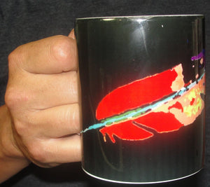Mug, Coffee; FEATHER