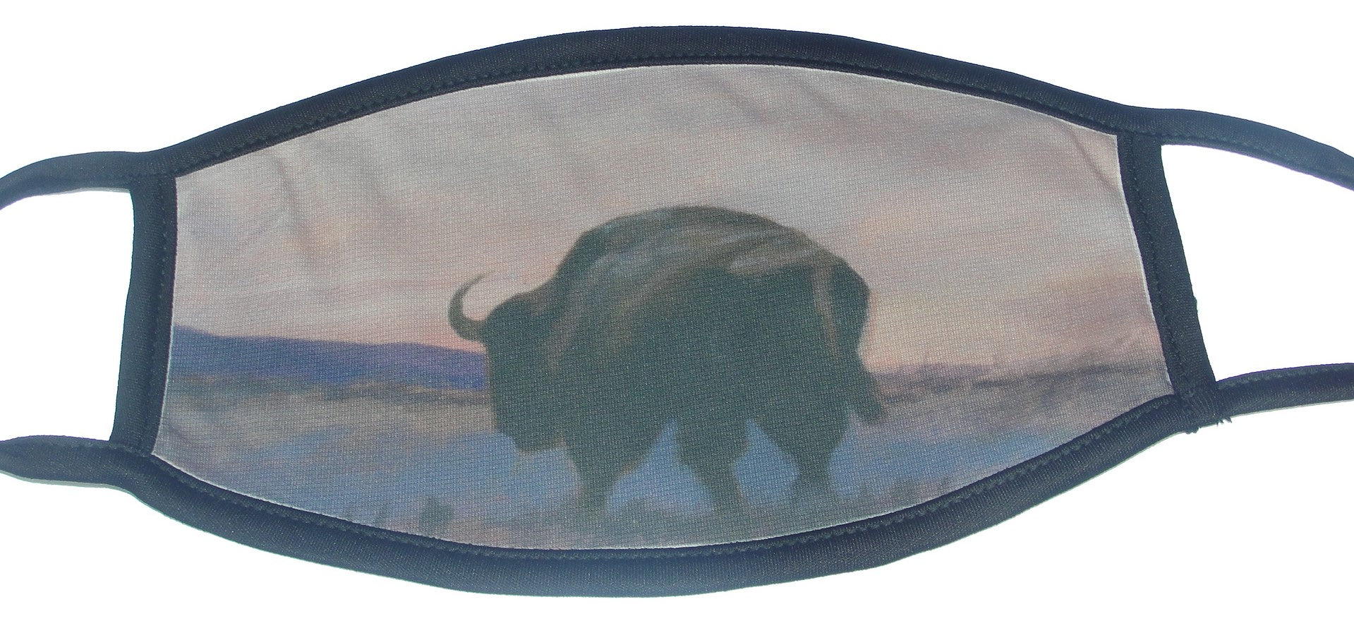 Mask, Bison at Dusk  Adult Size