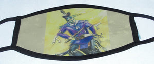 Mask, Southern Straight Dancer with Purple Shirt,  Adult Size