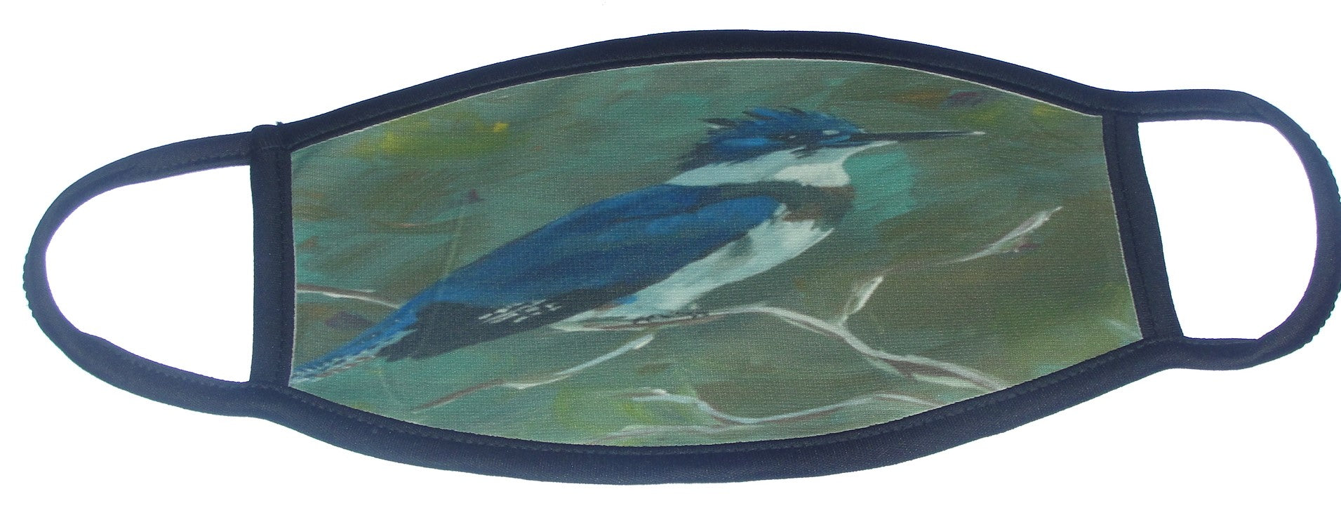 Mask, Kingfisher,  Adult Size
