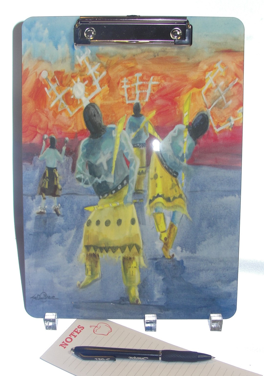 Clipboard,  Apache Crown Dancers